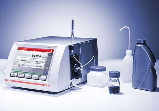 Nuove apparecchiature nei laboratori Aluchem